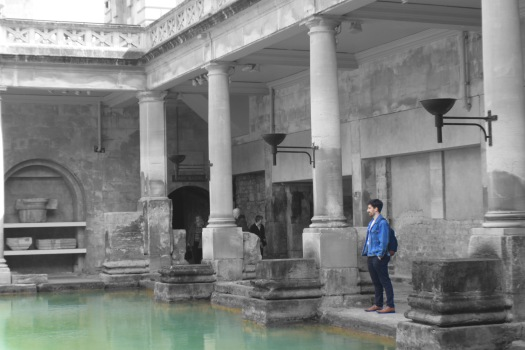 Roman Baths BW2